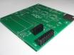 Soldado de los conectores para el GPS en el circuito impreso principal