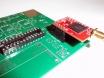 Zócalo para el microprocesador soldado a la izquierda del GPS